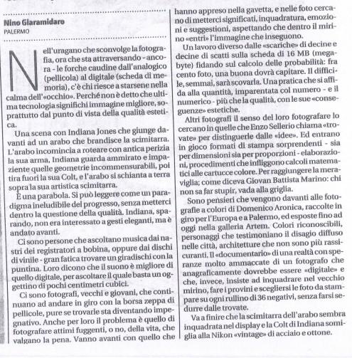 Giornale di Sicilia 08.06.2010