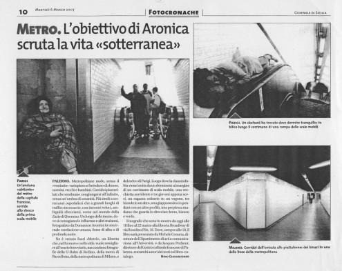 Giornale di Sicilia 6.03.2007